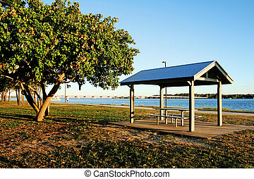 Bribie Island Bridge - The Bribie Island Bridge seen from...