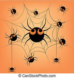 aranhas, dia das bruxas