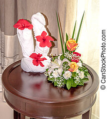 Decorations at Luxury Resort - Decorations at a luxury...