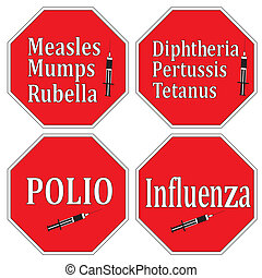 Stop infectious diseases - Health concept: Help to prevent...