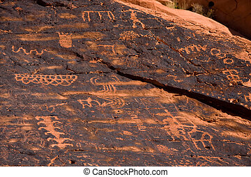 Ancient Petroglyphs - Petroglyphs from the Ancient Pueblo...