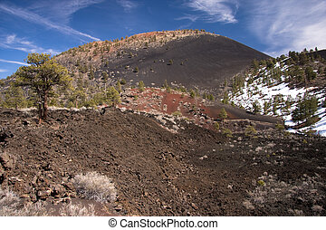 Sunset Crater National Monument - Sunset Crater Volcano was...