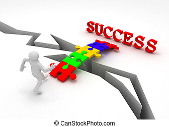 puzzle is bridge to success