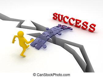 puzzle is bridge to success
