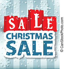 Christmas sale design - Vector Illustration of Christmas...