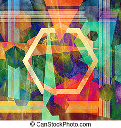 abstract background - bright colorful abstract background...