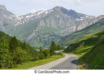 Colle dellAgnello - Road to Colle dellAgnello Cuneo, Val...