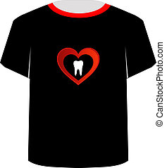 T Shirt Template- Sweet tooth