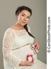 embarazada, niña