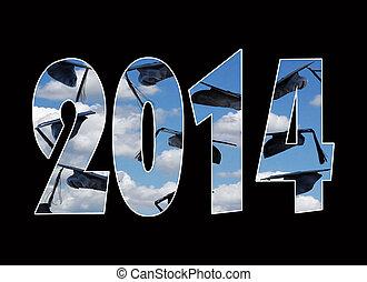 airborne graduation cap for 2014 - Graduation caps in sky...