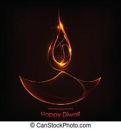 Diwali Holiday background