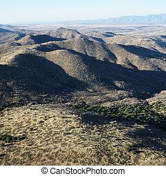 山, アリゾナ, 範囲
