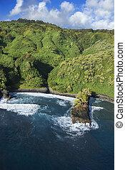 海岸線, ハワイ