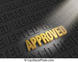 Finding Approval Instead of Rejection - A spotlight...