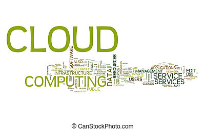 cloud computing text cloud
