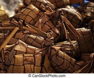 Woven Coconut Leaves - Ketupat