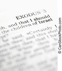 santissimo, bíblia, êxodo