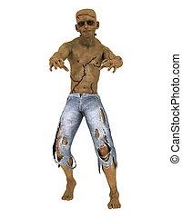 monster - image of Frankenstein