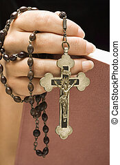 Religious woman.
