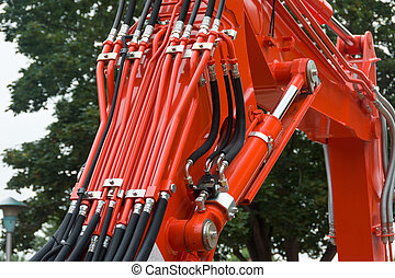 Hydraulics - Hydraulic Hoses and Tubes on Large Machinery