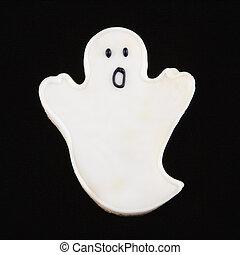 Ghost sugar cookie.
