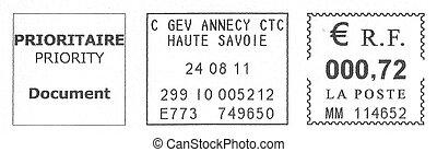 french postmark