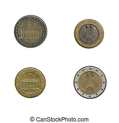 Germany euro coins
