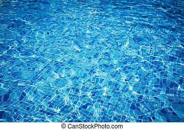 Swimming pool water Aqua texture