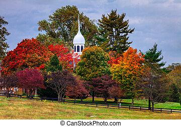 Fall scene - Beautiful fall scene in rural Kentucky