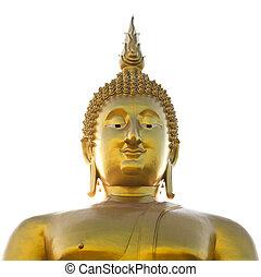 Big buddha statue at Wat muang, Thailand.