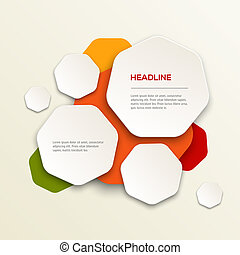 Modern colorful design - 3D Modern colorful design vector...