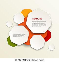 Modern colorful design - 3D Modern colorful design vector...
