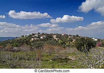 Jewish Village in the Galilee Israel
