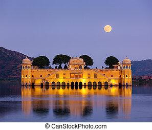 Jal Mahal Water Palace Jaipur, Rajasthan, India - Rajasthan...