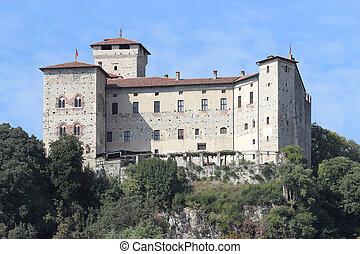 Rocca di Angera - Rocca old castle in Angera, Italy