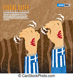 Fiscal cliff financial crisis in greece