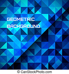 Abstract geometrical background - 3D Abstract geometrical...