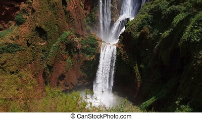 Ouzoud Waterfalls, Morocco - Ouzoud Waterfalls located in...
