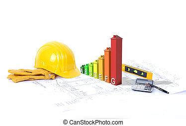 construction environmentally friendly - Concept for...