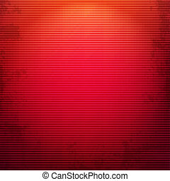 Red Grunge Background, With Gradient Mesh, Vector...