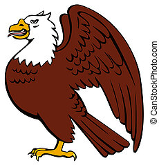Bald Eagle Retro