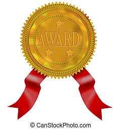 Gold Seal Red Ribbon Award