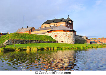 Finland Medieval Hameenlinna - Finland Old fortress in the...