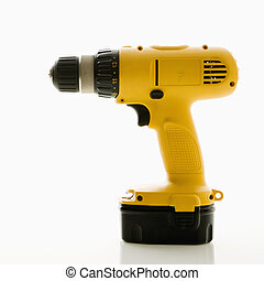 Cordless drill. - Cordless rechargeable electric drill.