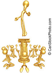 The Golden Idea Worshipers - 3D Concept And Presentation...