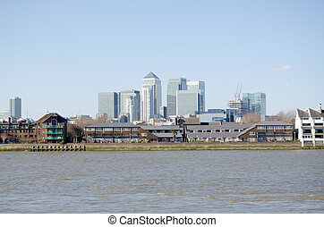 River Thames and Isle of Dogs