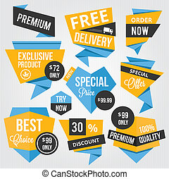 Premium Vector Sale Badges and Labe
