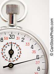 Stopwatch. - Detail of stopwatch.