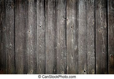 wood texture. background old panels, black and white tone