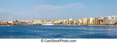 morning in Manoel Island Marsamxett Harbour - morning in...